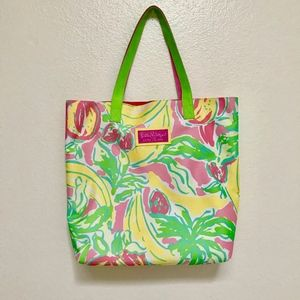 Lilly Pulitzer Bags - Lilly Pulitzer Estee Lauder Travel Beach Bag Tote